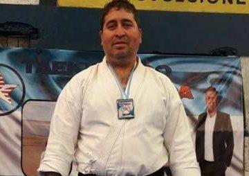Marcelo Carrizo, el profesor karateka que protege el polideportivo de Nueva Chicago