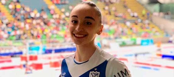 """Olivia Araujo: """"Mi gran sueño es ir a los Juegos Olímpicos de mayores"""""""