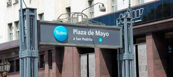 El Subte A volverá a Plaza de Mayo desde el sábado