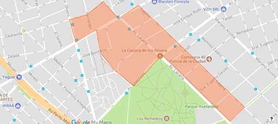 Parque Avellaneda: Estudiantes cortaron la calle en señal de apoyo al Cerámica 1