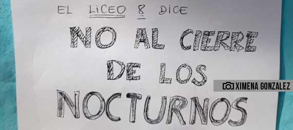 Mataderos: se realizan actividades en protesta al cierre de los secundarios nocturnos
