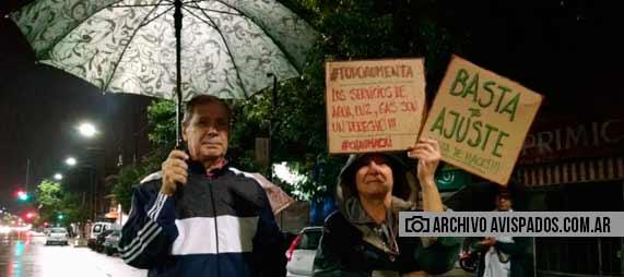 La Comuna 9 también participó del ruidazo contra la suba de tarifas