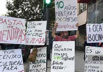 Mataderos: Se promulgó la ley que insta a la Ciudad a poner en valor el Cine El Plata