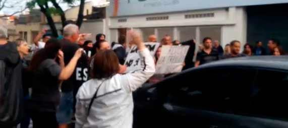 Mataderos: otra vez los vecinos repudiaron a Rodríguez Larreta