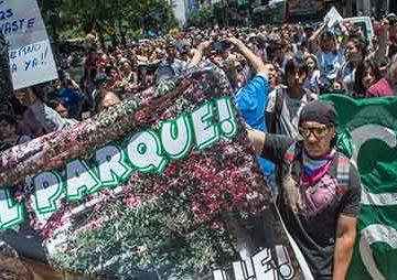 Parque Rivadavia: Están frenadas las obras para abir la calle Beauchef