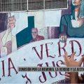 Liniers: buscan condecorar el mural de la Plaza Isidora