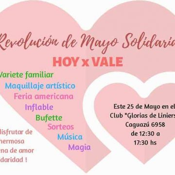 Realizan una actividad solidaria para ayudar a una vecina de Liniers