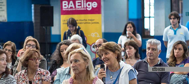 BA Elige: sólo tres propuestas se harán realidad en la Comuna 9