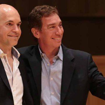 Rodríguez Larreta y Santilli van por la reelección en la Ciudad