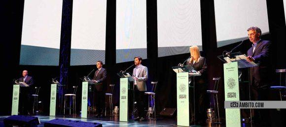 Cuándo serán los debates de aspirantes a presidentes
