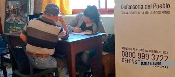 Comenzó a funcionar una sede de la Defensoría del Pueblo en Parque Avellaneda