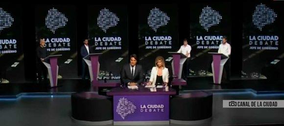 Se realizó el debate de candidatos a jefe de Gobierno de la Ciudad