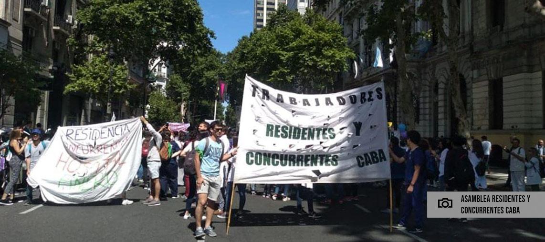 Suspendieron la ley de residentes y concurrentes