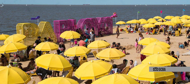 Último fin de semana para disfrutar el Buenos Aires Playa 2020