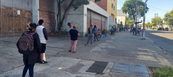 Comuneros del Frente de Todos exigieron que se mejoren las Canastas Nutritivas Escolares