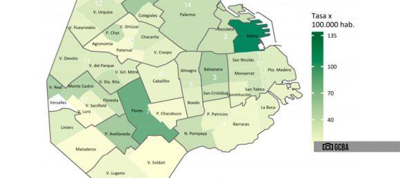 La Comuna 9 es una de las áreas con menos casos de coronavirus en la Ciudad