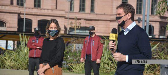 Es obligatorio el uso del tapabocas en los espacios públicos de la Ciudad