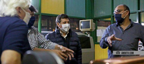"""Presentaron el plan """"Recuperar"""" para cooperativas en Mataderos"""